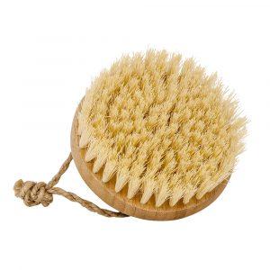 Massagebürste aus Bambusholz mit Kokos-Borsten