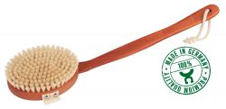 Bathbrush, pear wood, Made in Germany