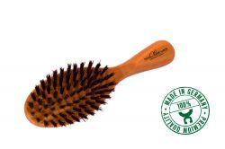 Brosse à cheveux en olivier, petite