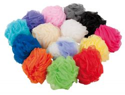 Eponge fleur, en 10 couleurs + multicolor