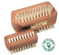 Nailbrush pear wood, large