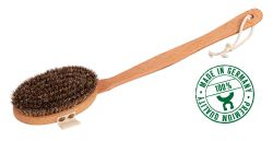 Dry brush with horse hair, Made in Germany
