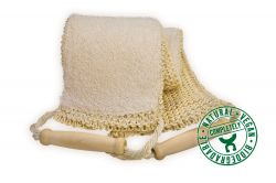 Massage strap, sisal/cotton