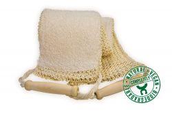 Lanière de massage éponge tricoté