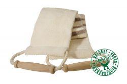 Lanière de massage en coton