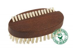 Nail brush of thermowood, large