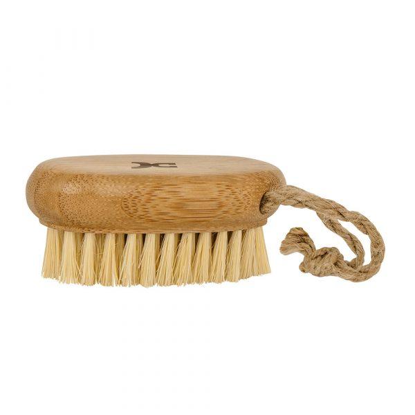Handmassagebürste aus Bambusholz mit Kokos-Borsten