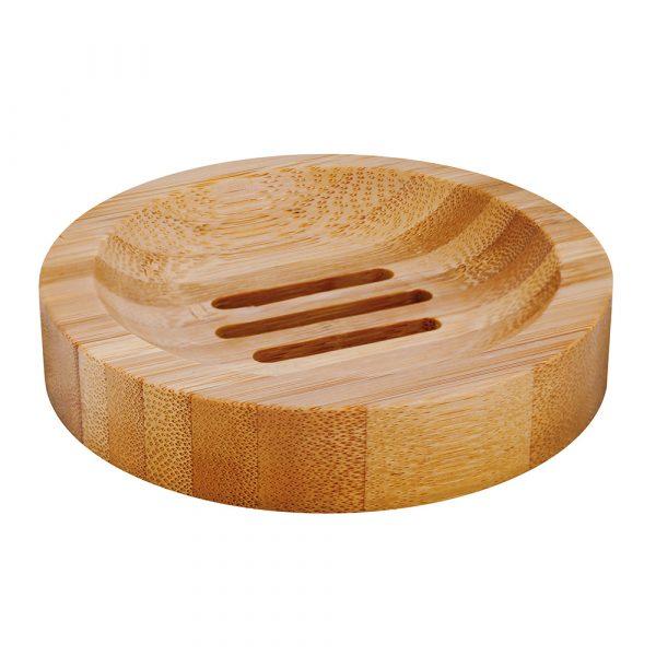 Seifenablage Bambus, rund