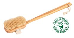 Bathbrush, olive wood, Made in Germany