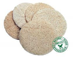 Loofah peeling pads, pack of 5