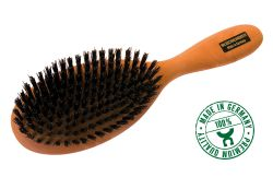 Hairbrush, oval shape, pear wood