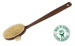 Bathbrush of thermowood, Made in Germany