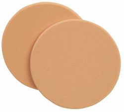 Latex cosmetic sponge, round Ø6cm